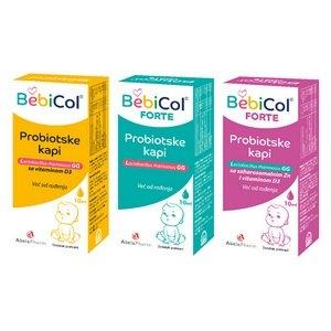 BebiCol, BebiCol Forte i BebiCol s cinkom