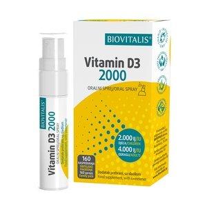 Biovitalis Vitamin D3 2000