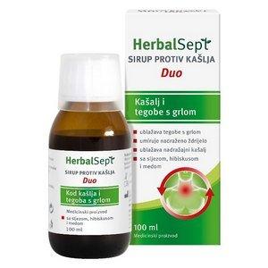 HerbalSept sirup protiv kašlja Duo