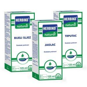 Herbiko Natural Bijeli sljez, Jaglac, Trputac