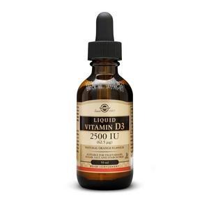 Solgar Liquid vitamin D3 62,5 μg